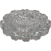 Set of 3 Nesting Glass Ashtrays