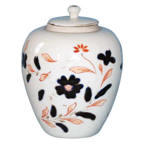 Porcelain Ginger Jar with Imari Decoration