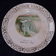 C.P.Co  Plate Souvenir of Keosauqua Iowa.