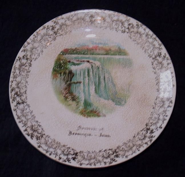 C.P.Co  Plate Souvenir of Keosauqua Iowa.