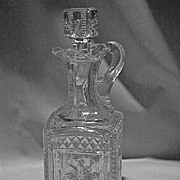 Grace Decanter Model Flint Glass Co. c1900