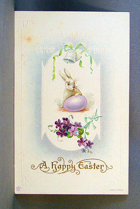 James E. Pitts Easter Postcard