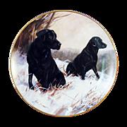 Winter Watch Collector Plate by John Trickett