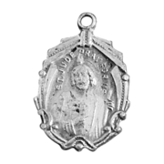 Sterling Silver St. Jude Religious Medal