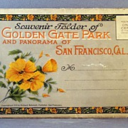 1915 Souvenir Postcard Folio of San Francisco and Golden Gate Park