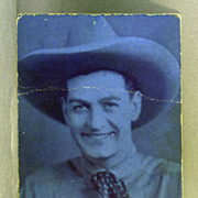 Arcade Card Buffalo Bill Jr.  Actor and Stuntman