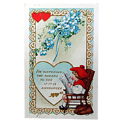 1916 Valentine Post Card