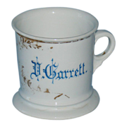 Personalized Shaving Mug Vinton Garrett Atwood Illinois