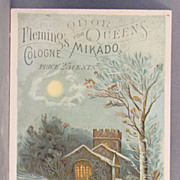 Fleming's Mikado Cologne Advertising Card
