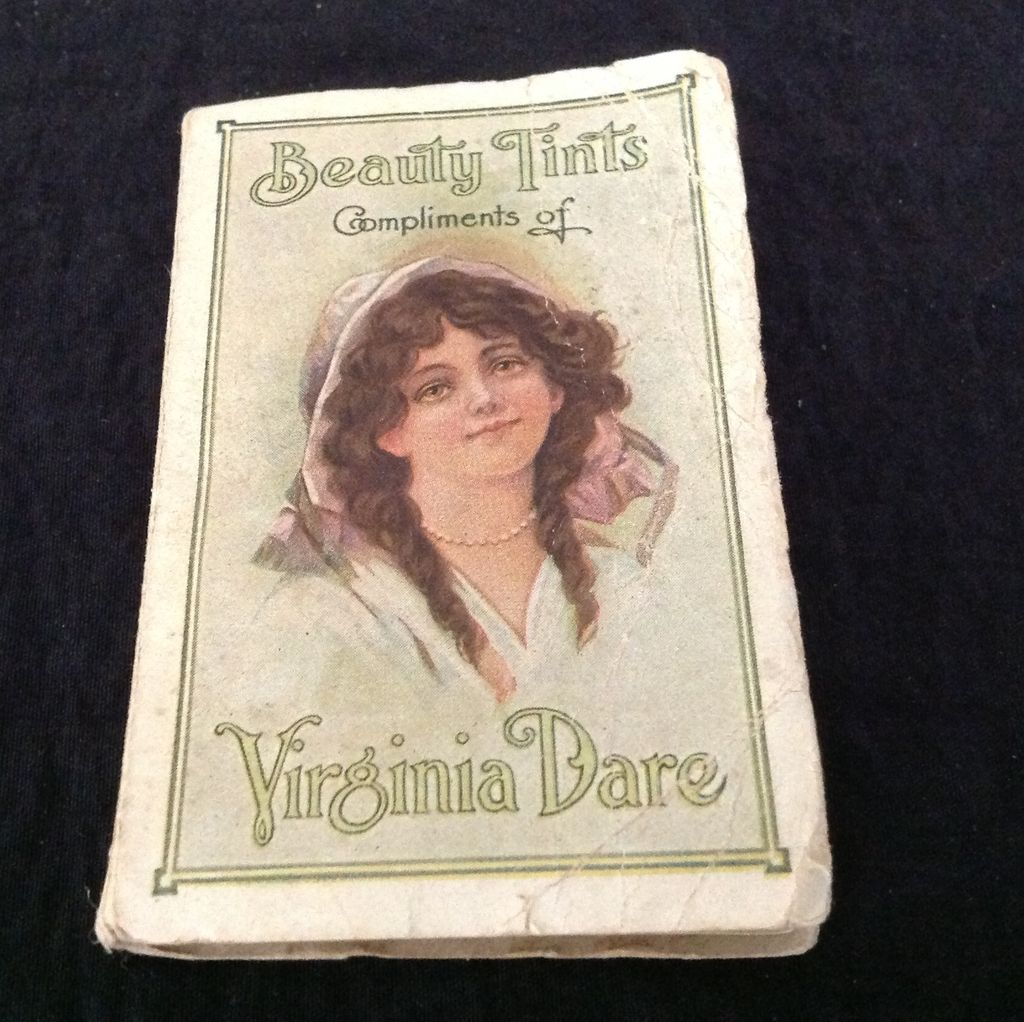 Virginia Dare Beauty Tints cleansing tissues   1906