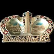 Washington, D.C. Souvenir ash tray or wall plaque