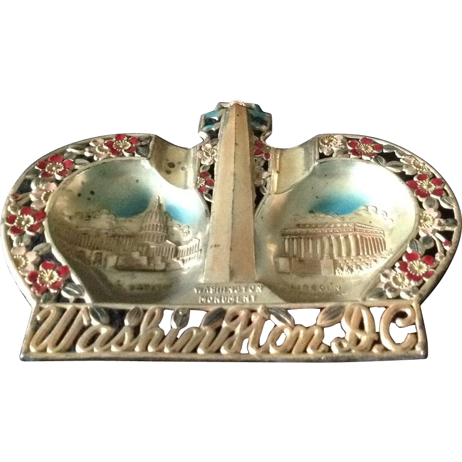 Washington, D.C. Souvenir ash tray or wall plaque