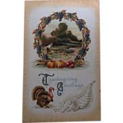 1910 Thanksgiving Greetings