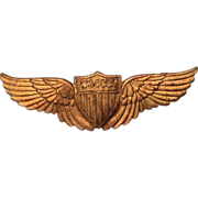 World War One era pilot or aviator's wings
