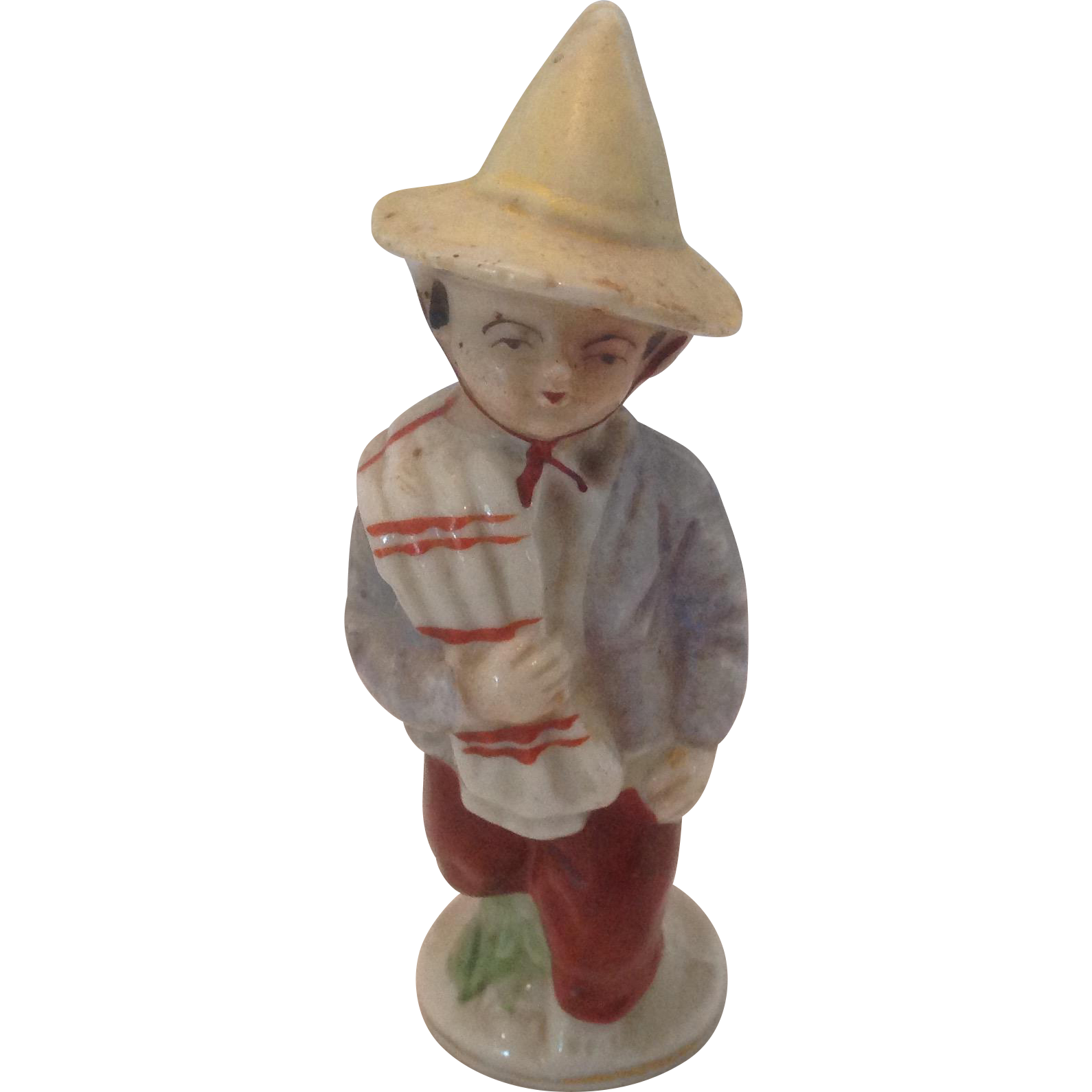 Mexican peasant bisque figurine Japan