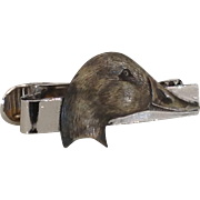 Duck head tie clasp