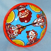 US Metal Toy tin litho noise maker