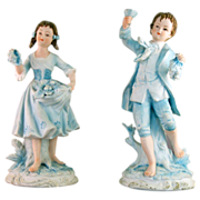 Andrea by Sadek #7190 Figurine Pair
