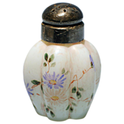 Opalware Gillinder Glass Melon Six Rib Shaker