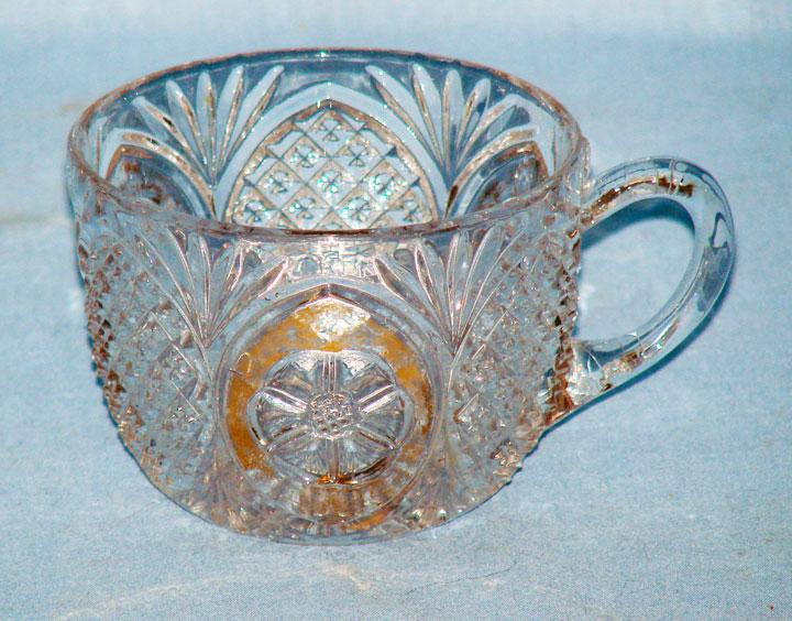 EAPG Punch Cup Daisy, Sunk Daisy or Kirkland