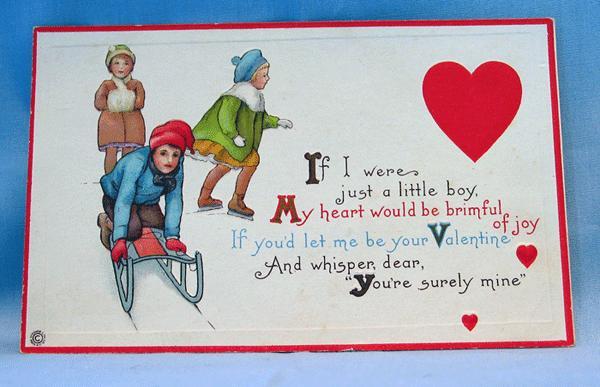 Valentine Postcard Stecher Series 89 C