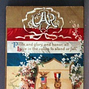 1910 G.A.R. Postcard  Signed Clapsaddle