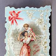 Folding Valentine Card