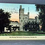 1912 Post Card Normal University Gymnasium in Normal, Ill.