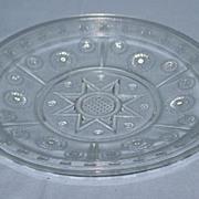 Rosette Round Bread Tray