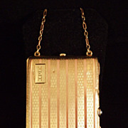 Art Deco 14K Rose and Yellow Gold Necessaire