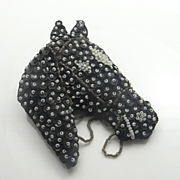 Big Vintage 1940's Hand Made Beaded Horse  Pin Brooch