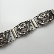 Antique Dutch Sterling Silver Bracelet