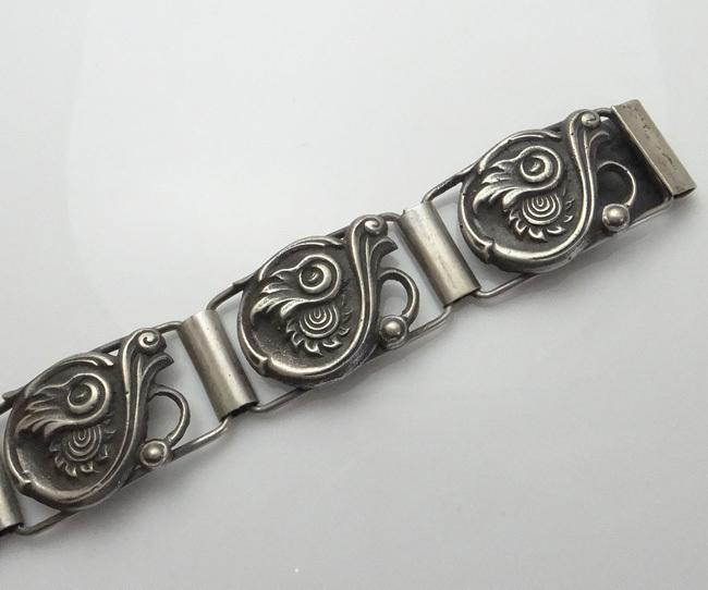 Antique Dutch Sterling Silver Bracelet JUST REDUCED!