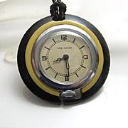 Vintage Art Deco New Haven Pocket Watch