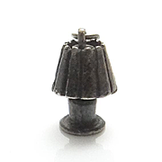 Unique Vintage Early Moving Table Lamp Sterling Silver Charm