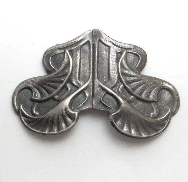Vintage Art Nouveau Belt Buckle
