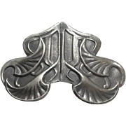 Vintage Art Nouveau Belt Buckle