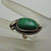 Vintage Sterling Silver Ring Gorgeous Stone