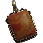 Sterling Silver Agate Pendant JUST REDUCED!