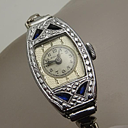 Vintage Art Deco Ladies Bulova Watch