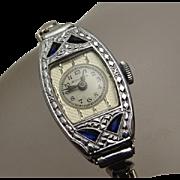 Vintage Art Deco Ladies Bulova Watch