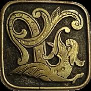 Unique Antique Sea Creature Pin
