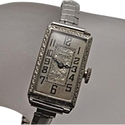 Vintage Art Deco Gruen Ladies Watch