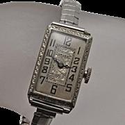 Vintage Art Deco Gruen Ladies Watch
