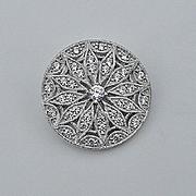 Tacori IV CZ Pin Pendant