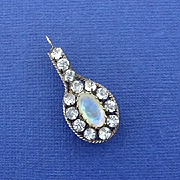 Beautiful Opal Glass Paste Edwardian Pendant