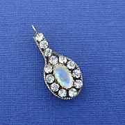 Beautiful Opal Glass Paste Edwardian Pendant