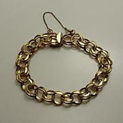 Vintage Gold Filled Starter Charm Bracelet