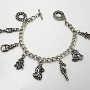 Christmas Charm Bracelet  Nice Charms