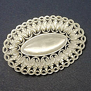 Fancy Vintage Mother of Pearl Pin